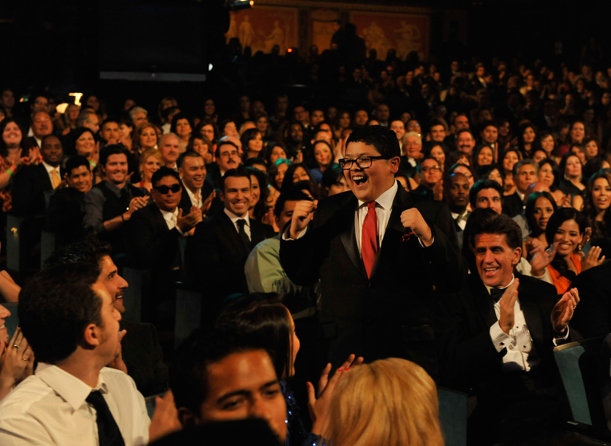 PASADENA, CA - SEPTEMBER 16:  Actor Rico Rodriguez accepts the Favorite TV Actor Supporting Role in a Comedy award onstage at