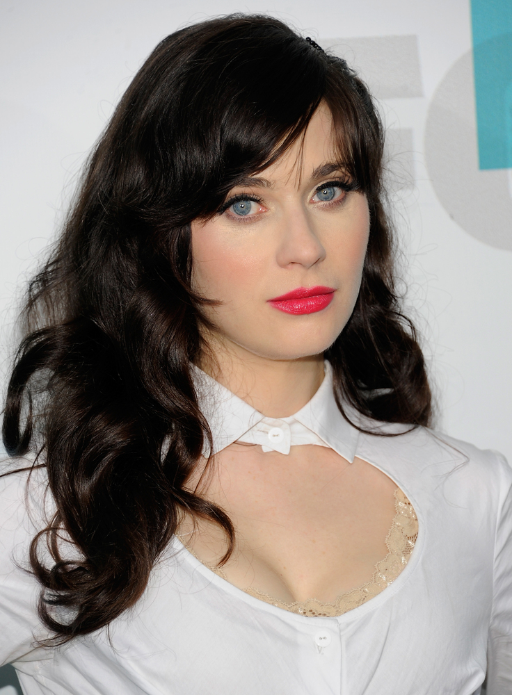 """Zooey Deschanel, who is nominated for <a href=""""http://www.latimes.com/entertainment/envelope/emmys/la-et-st-emmy-nominations-"""