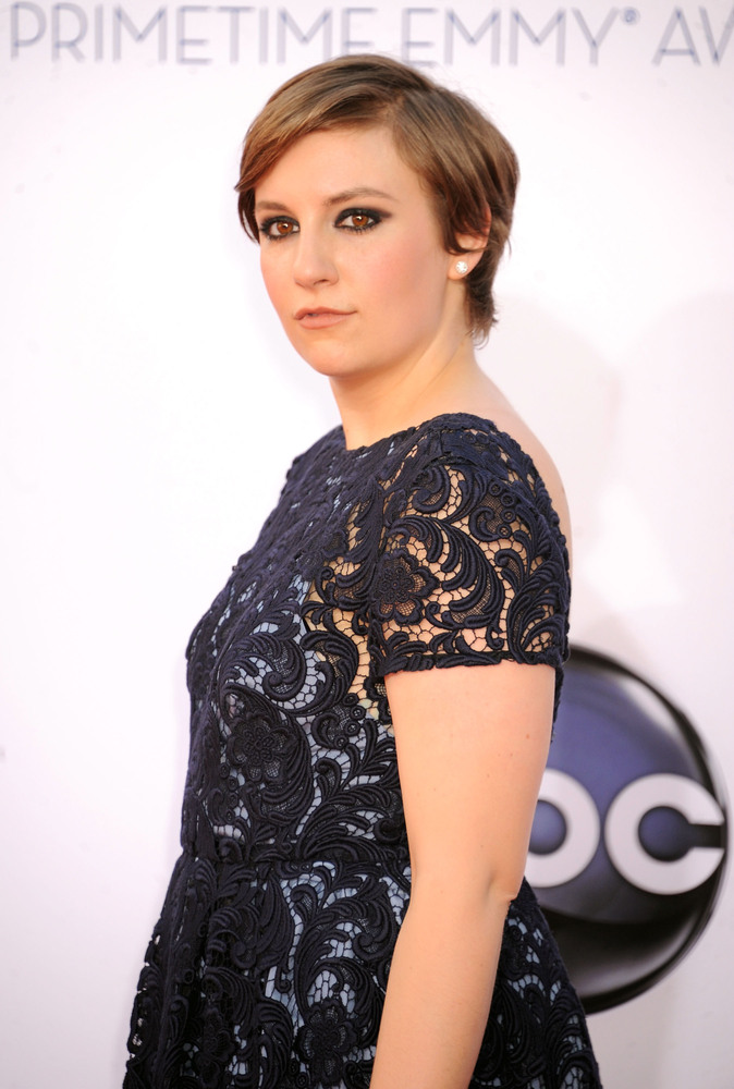 """I can't tell you exactly what's going on. It would be a spoiler alert. It involves sex, sharp objects ...""  -- Lena Dunham t"