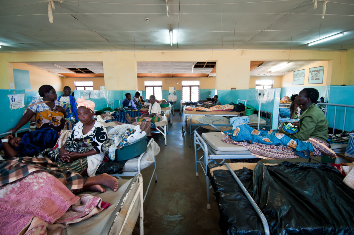 The Maternity Ward at Dedza District Health Office. The district's main hospital, just 10 KM from the Mozambique border in so