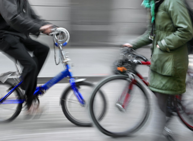 Arriving to the office via bicycle is an increasingly common commute. In fact, Vancouver city officials recently reported tha