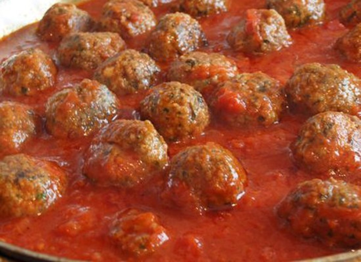 These tender meatballs are baked not fried. They also have a few secret ingredients that make them perfect every time...  <