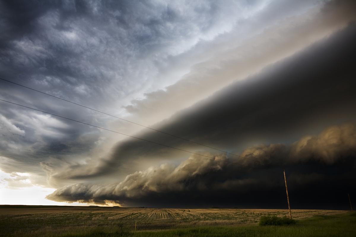 "The Collapse III - South Dakota, USA, June 2008  Credit: <a href=""http://www.camilleseaman.com"">Camille Seaman</a>"