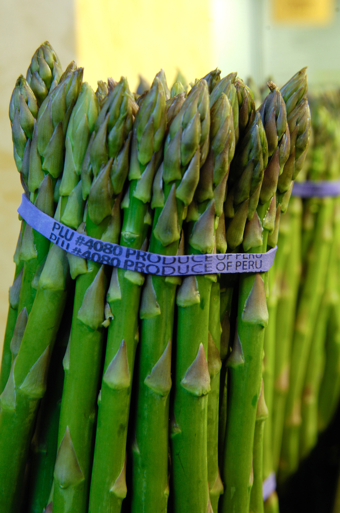 Asparagus is high in antioxidants, folate, and potassium. But because folate is very sensitive to heat, lightly steaming the