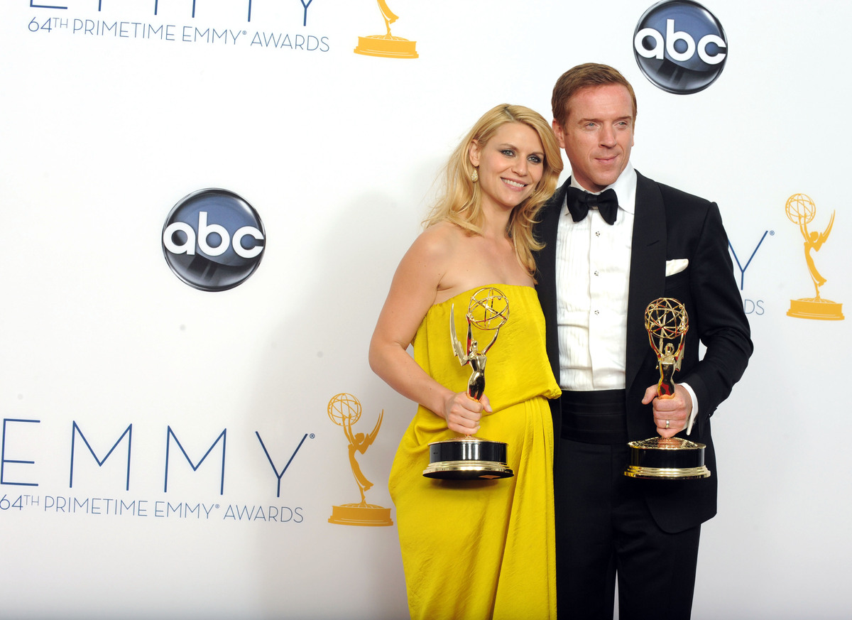 "<strong>The Event:</strong> <a href=""http://www.huffingtonpost.com/2012/09/23/homeland-emmys-sweep_n_1908232.html"">""Homeland"""