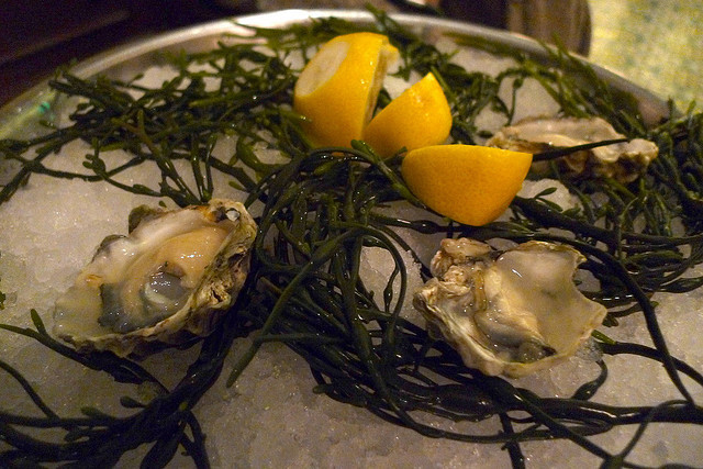 These tiny, cucumber-flavored, deep-cupped oysters are our favorite of the West Coasters. The first time you eat one, you may