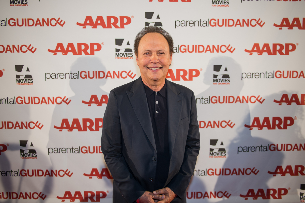Billy Crystal on the red carpet at the AARP's Life@50+ expo in New Orleans on September 22, before a screening of his new fil