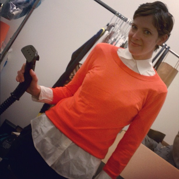 Behind the scenes at our latest shoot with fashion editor Christina Anderson #safesteaming