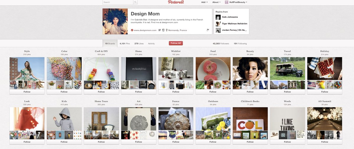 "<a href=""http://pinterest.com/designmom/"" target=""_blank"">Design Mom</a>: This designer and <a href=""http://www.designmom.com"