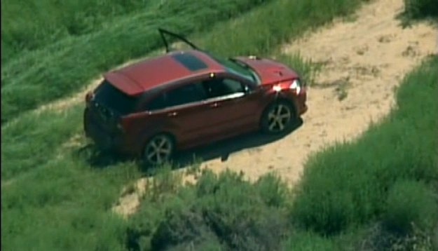 A long, high-speed car chase in Ariz. ended with the suspect shooting himself in the head on live TV, appearing to commit sui
