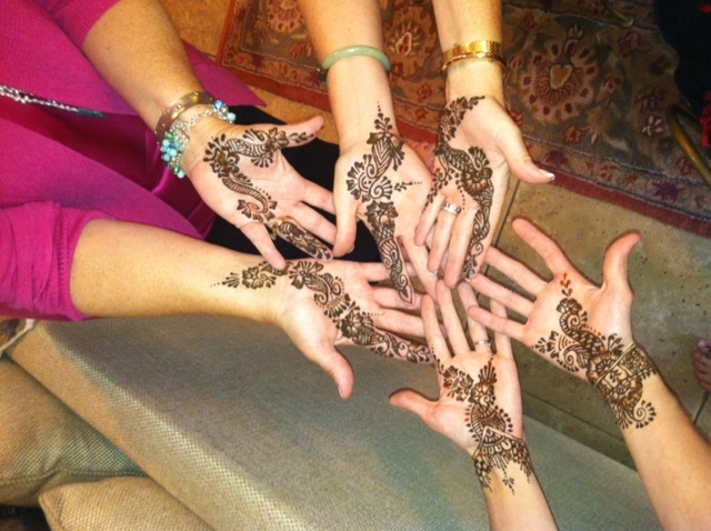 My daughter is getting married next weekend and we had the mehndi this weekend. We are Christian and her fiancee's family is