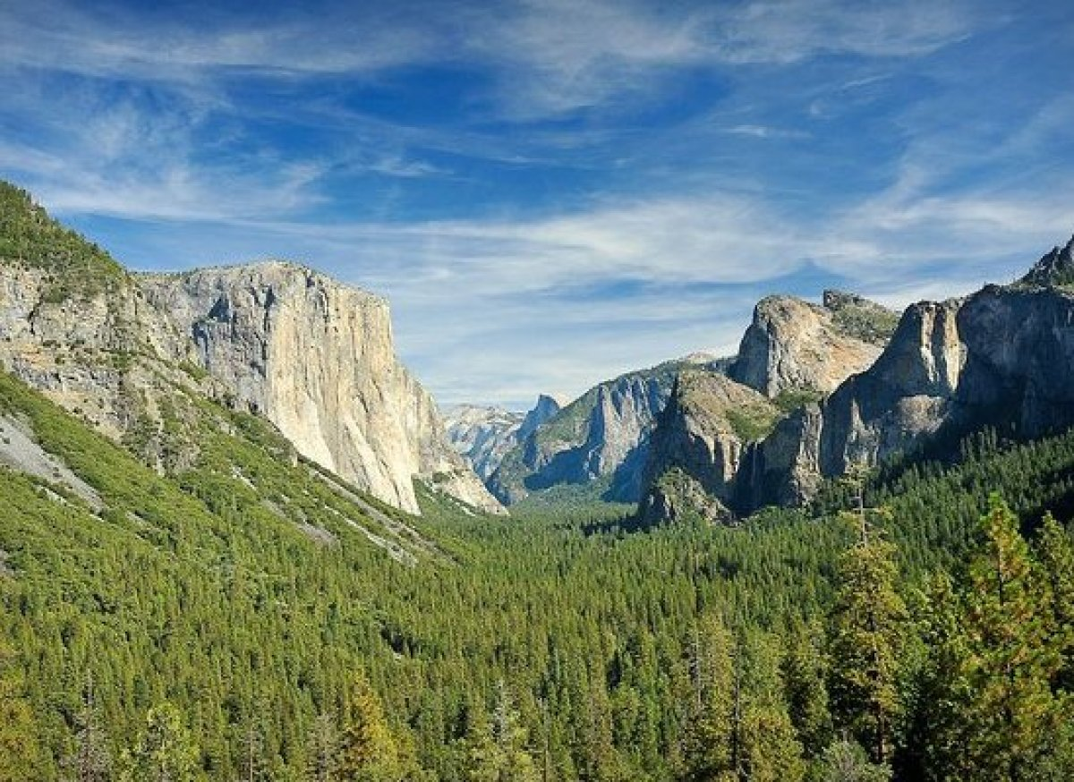 "Post Labor Day, the deciduous trees of California's <a href=""http://www.yosemitepark.com/"" target=""_hplink"">Yosemite National"