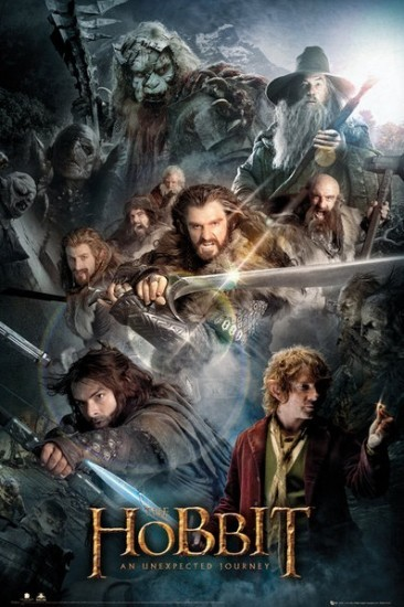 """As if we needed more reasons to count down the days until """"The Hobbit"""" comes out, this new movie poster -- which features wha"""