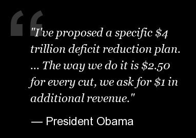 In promising $4 trillion, Obama is already banking more than $2 trillion from legislation enacted along with Republicans last