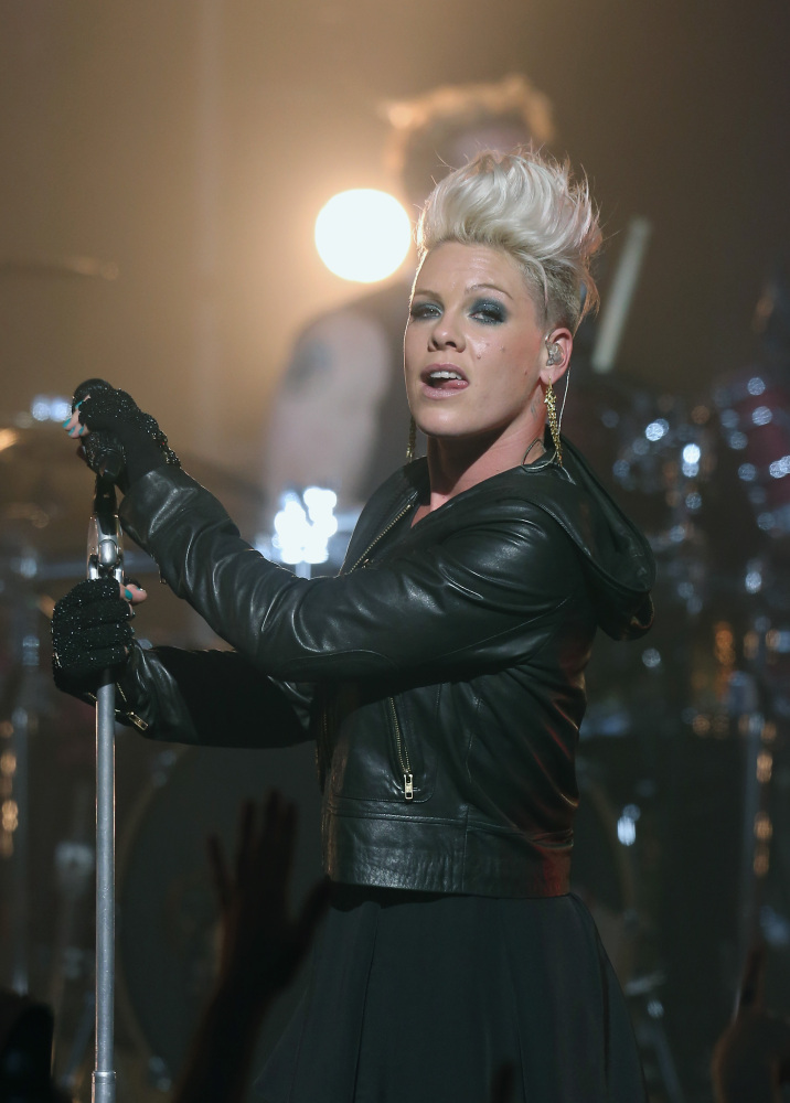 Pink Melbourne Australia October 4 2012 Getty Images  sc 1 st  HuffPost & Dressing Like A Rock Star Includes More Than Leather (PHOTOS) | HuffPost