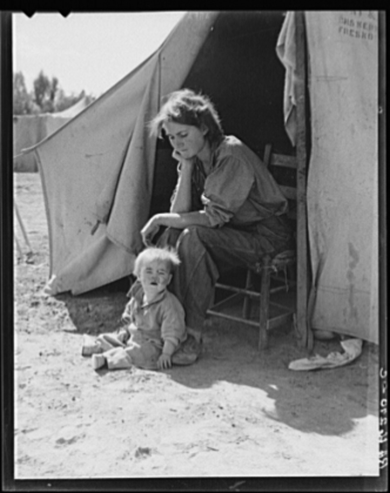 By Dorothea Lange March 1937