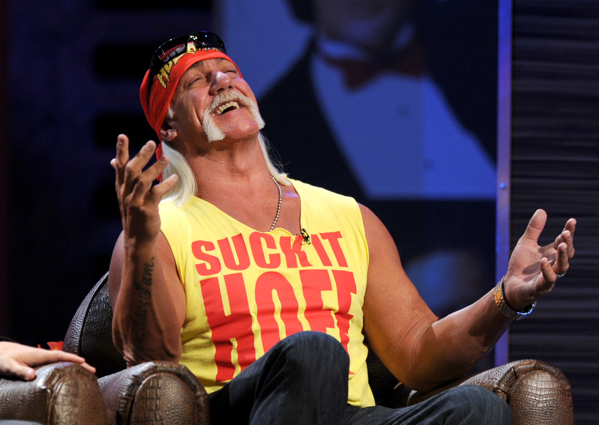 """In March 2012, TMZ reported the existence of a Hulk Hogan sex tape that was being <a href=""""http://www.tmz.com/2012/03/07/hulk"""