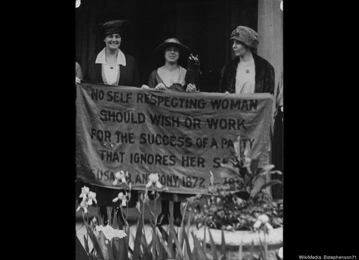 It's hard to believe there was a time in our history when women weren't allowed to vote. But thanks to some courageous women