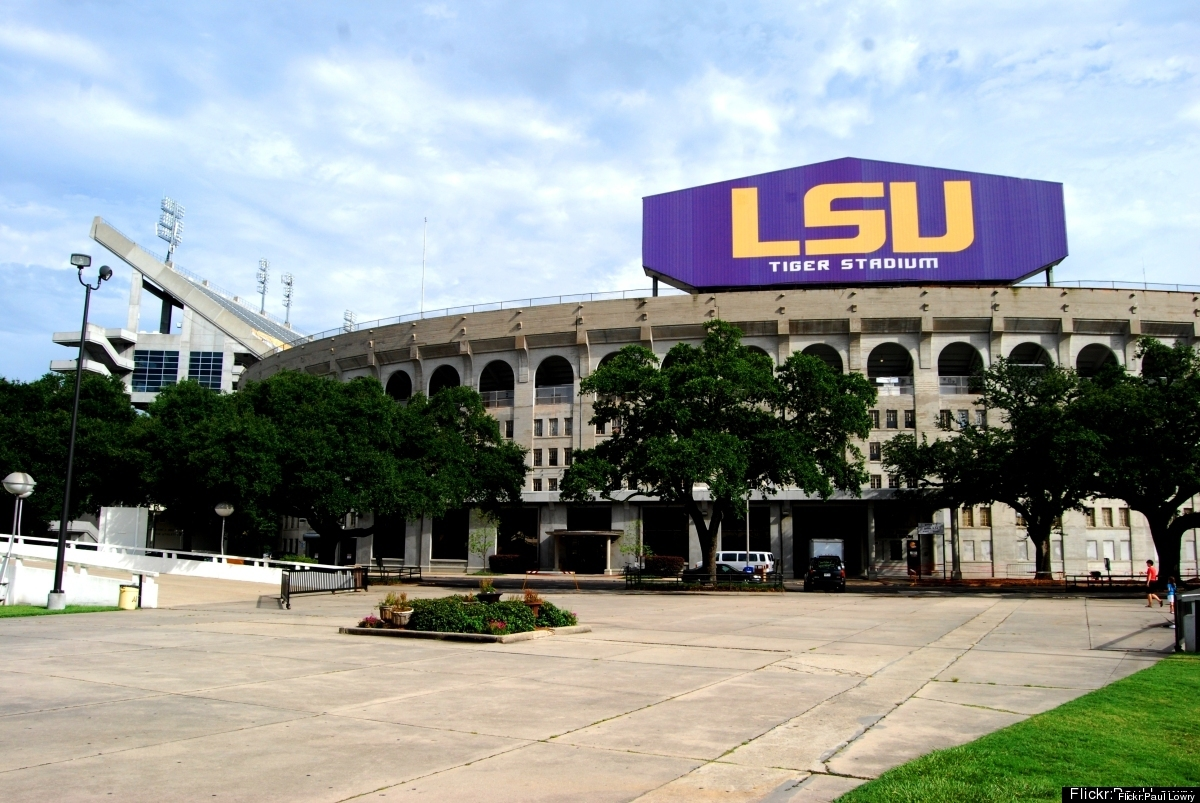 Home of Louisiana State University and Saturday night football games at Death Valley, Baton Rouge is energized in the fall, e