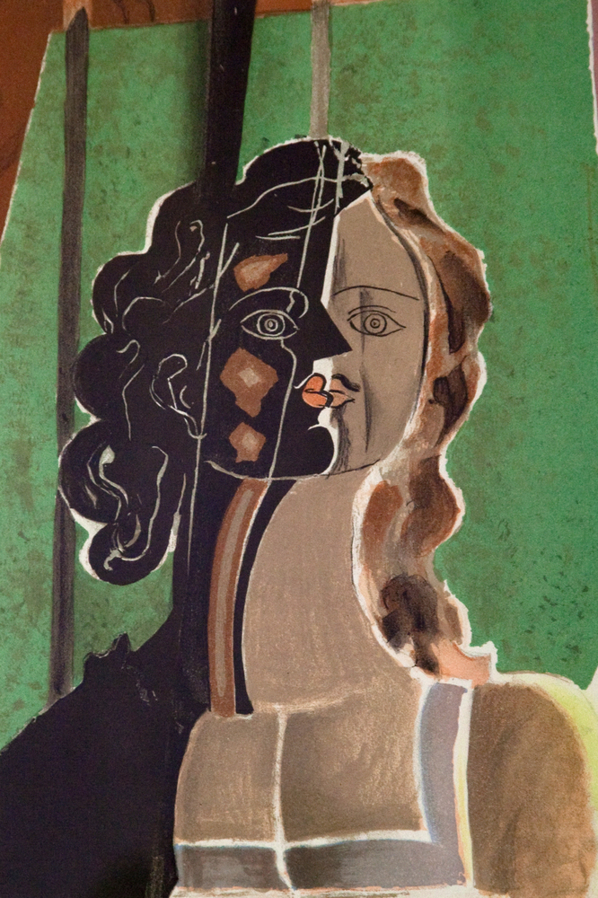 """""""Figure"""" by Georges Braque  $1,549.99  SOLD."""