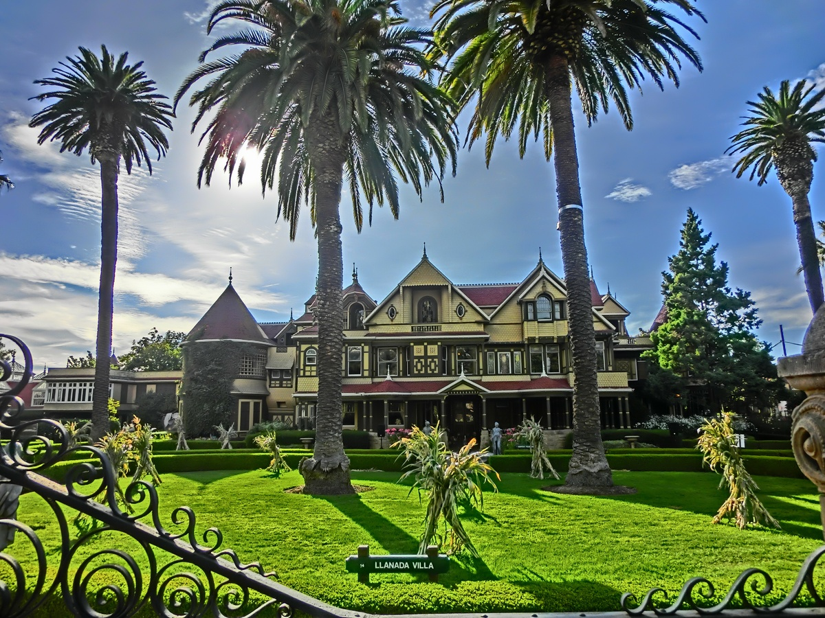 "The <a href=""http://winchestermysteryhouse.com/"">Winchester Mystery House</a> -- home to a ""wealthy, eccentric recluse"" -- is"