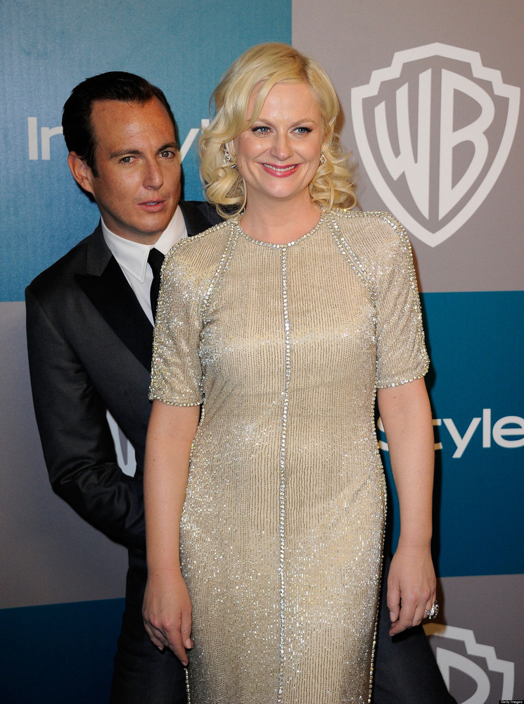 """Amy Poehler & Will Arnett. Was hoping between the two of them they'd have enough humor to get through anything!""   <a href="""