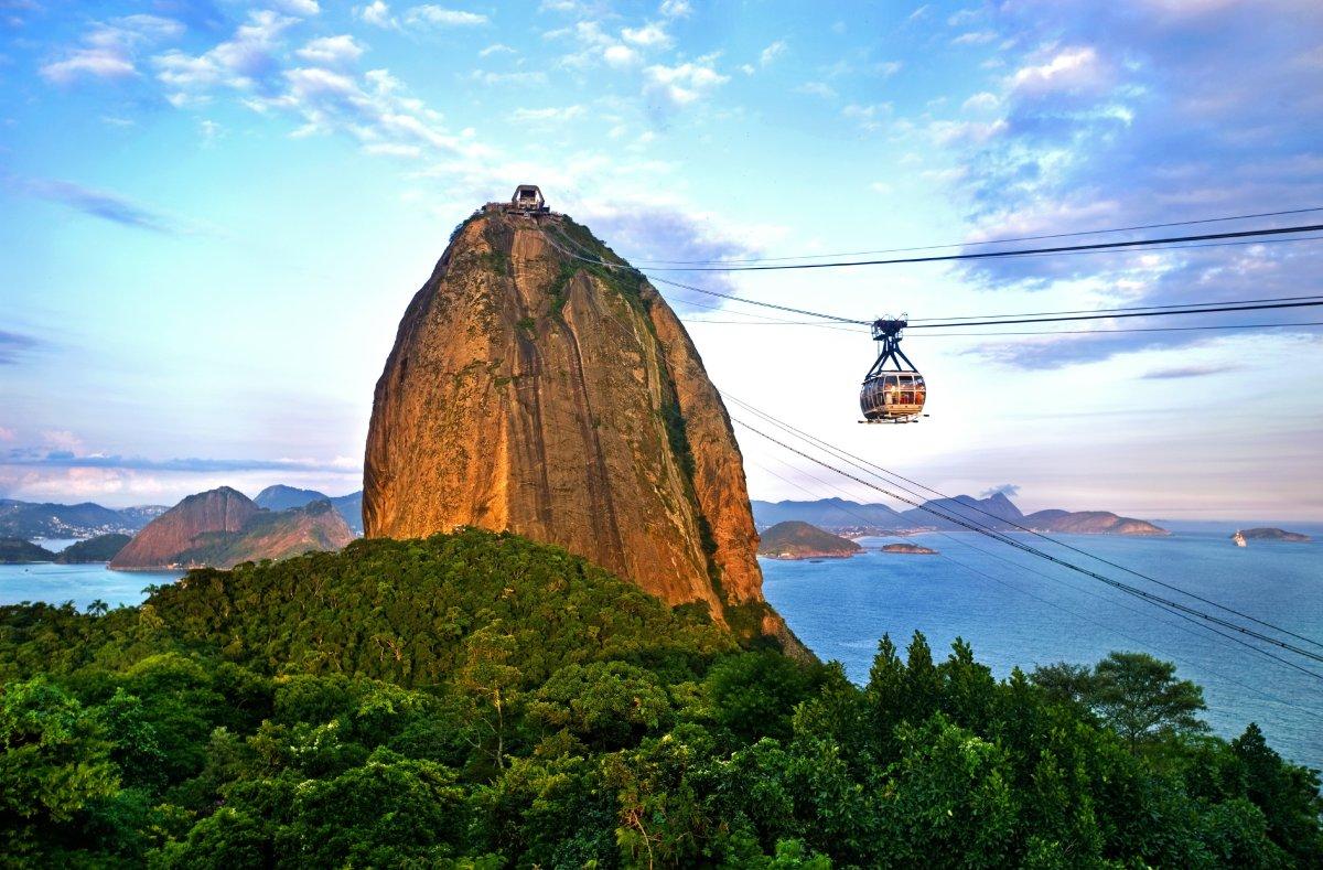 <strong>Sugar Loaf Mountain, Rio de Janeiro, Brazil</strong><strong>Film: </strong><em>Moonraker </em>(1979) Rio's picture-p