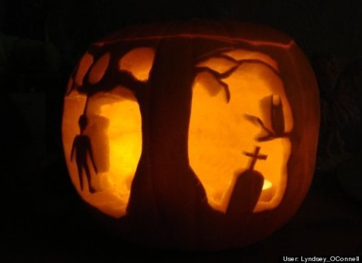 17 Pumpkin Carving Ideas From 39 Hello Kitty 39 To 39 Hunger