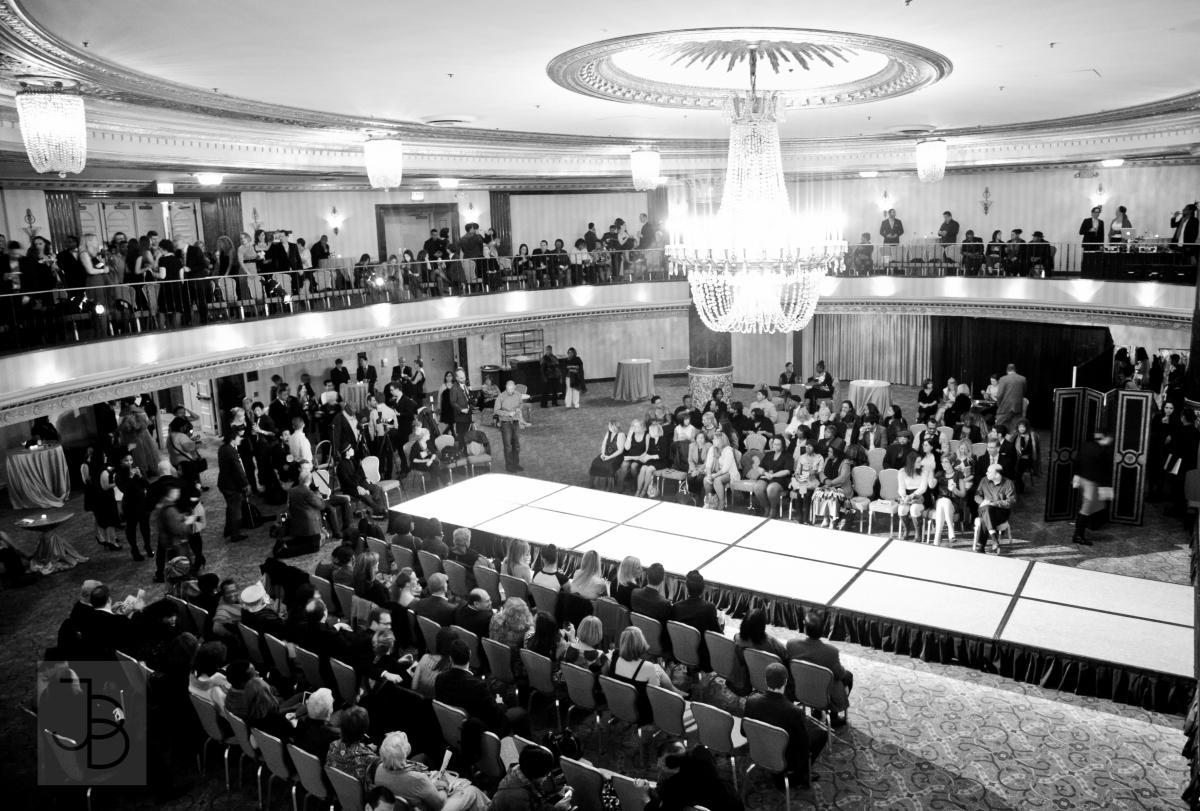The grand ballroom of the Intercontinental Hotel