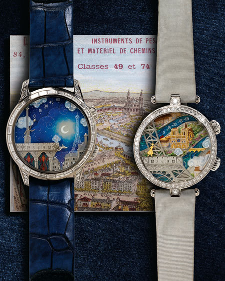 """The priciest gifts in the Neiman Marcus collection are the """"His & Hers"""" 2012 Van Cleef & Arpels <a href=""""http://www.neimanmar"""