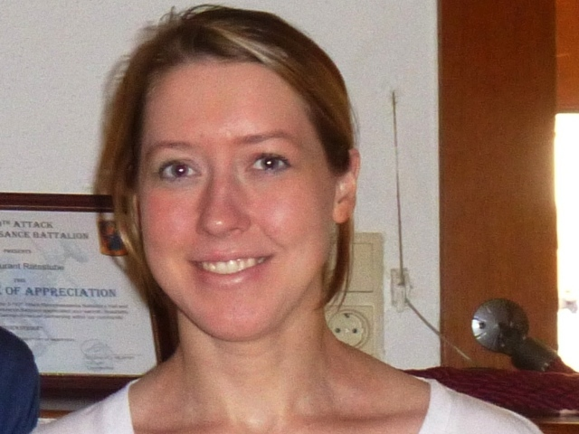 This undated handout image shows Jeanne Marie Rysiewicz, 26, who vanished from Dallas / Ft. Worth International Airport while