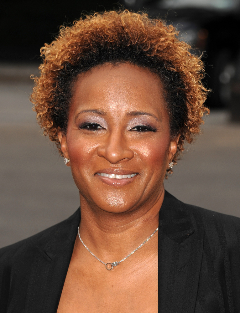 """Comedian Wanda Sykes was married to record producer <a href=""""http://blog.zap2it.com/frominsidethebox/2009/05/wanda-sykes-and-"""