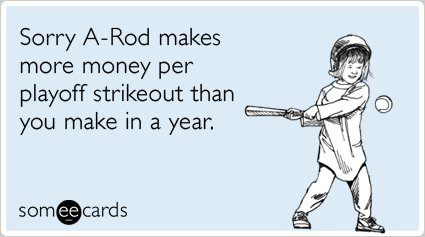"""<strong><a href=""""http://www.someecards.com/sports-cards/alex-rodriguez-yankees-playoff-strikeout-funny-ecard"""">To send this ca"""