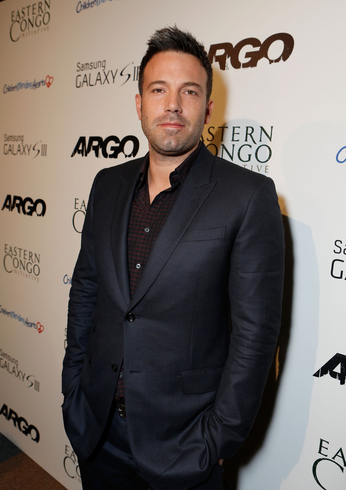 Director Ben Affleck at Warner Bros. 'ARGO' Charity Screening Presented By Samsung Galaxy SIII To Benefit Eastern Congo Initi