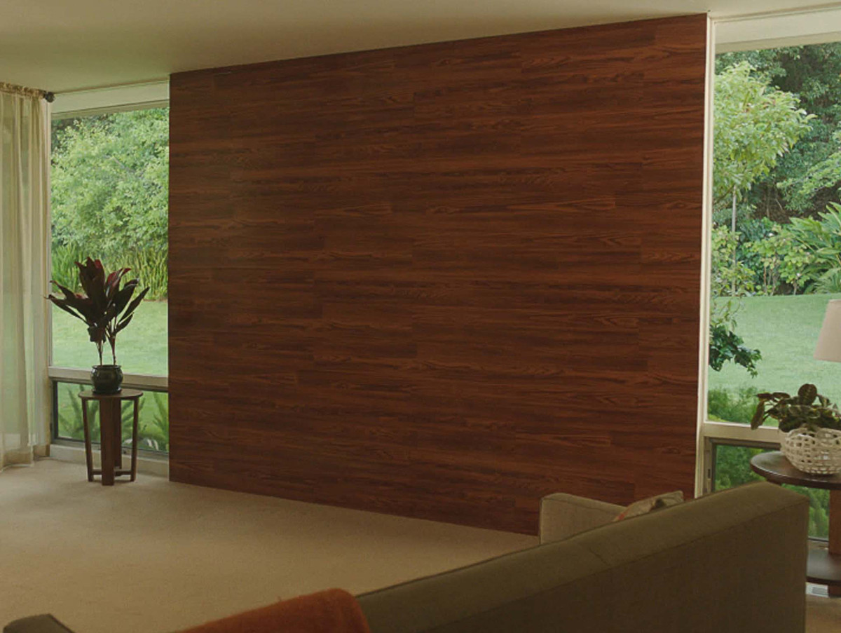 """Learn how to create a <a href=""""http://styleguide.homedepot.com/fall2012/projects-index/"""">laminate wall</a>.   (Photo by Home"""