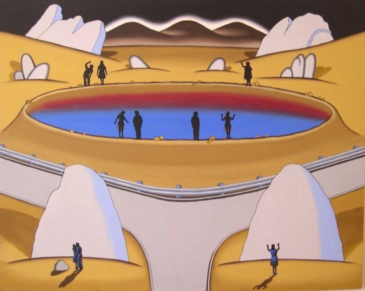 "Roger Brown. Courtesy of <a href=""http://www.zollaliebermangallery.com/"" target=""_hplink"">Zolla/Lieberman Gallery</a>."