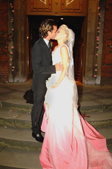 Celebs In Non White Wedding Dresses