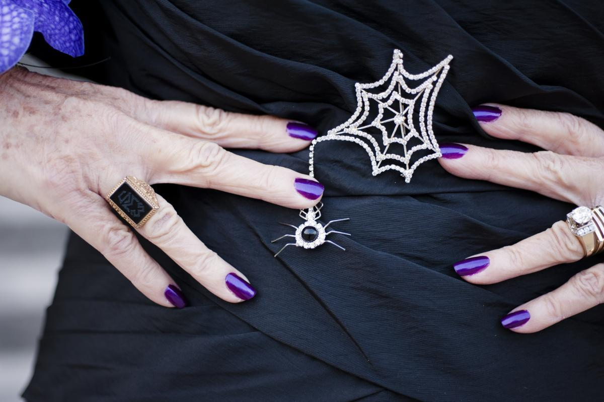 Too freaky:   Anything plastic! Say no to the fake Halloween pumpkins, skeleton heads, jewelry and fangs, Digilov says. Als