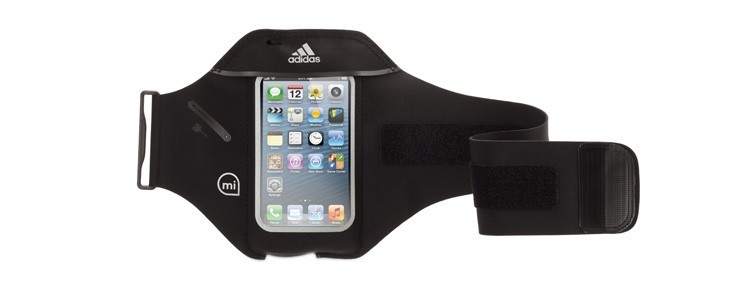 Adidas's miCoach Armband has a sweat-proof, touch-through screen cover, so you can skip songs with ease while jogging. An inn