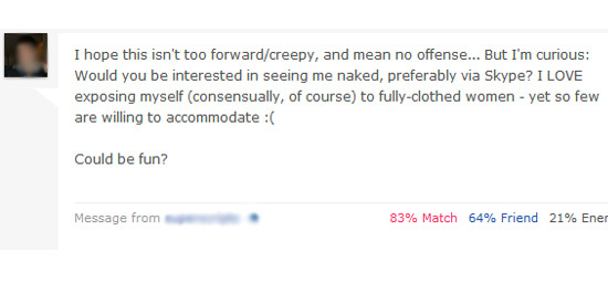 dating site first message template - woman brilliantly shuts down man who accuses her of lying