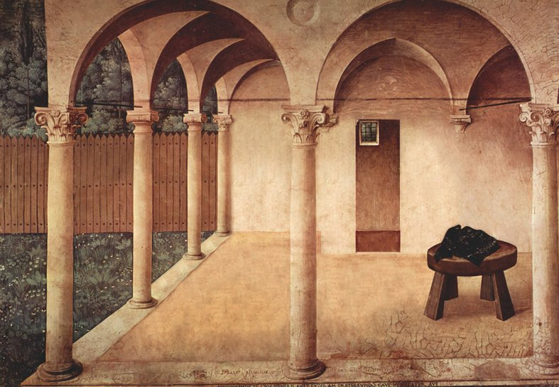 """Fra Angelico's """"The Annunciation"""", 1450"""