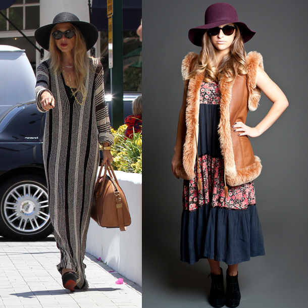 "Maxi dresses, sky-high heels, luxe furs and floppy hats sum up this <a href=""http://www.huffingtonpost.com/2012/09/02/rachel-"