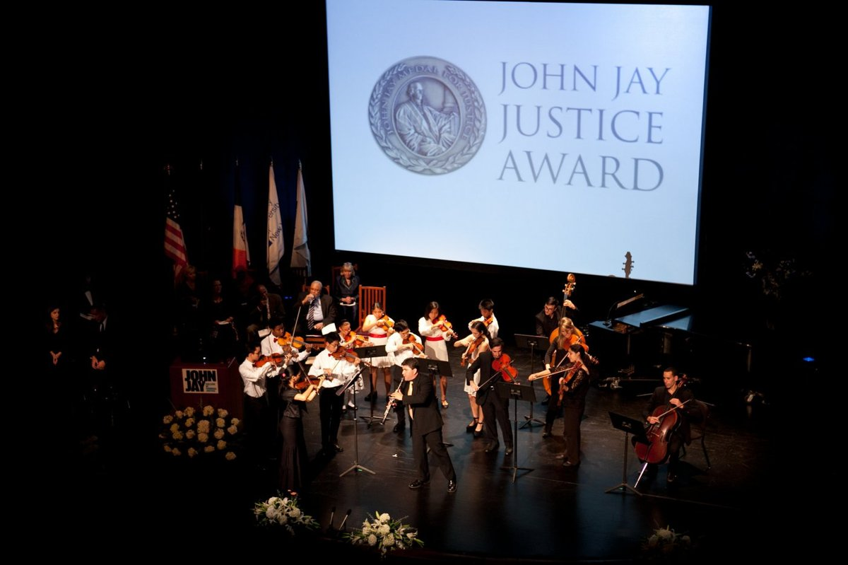 John Jay College Justice Awards at the Gerald W. Lynch Theater