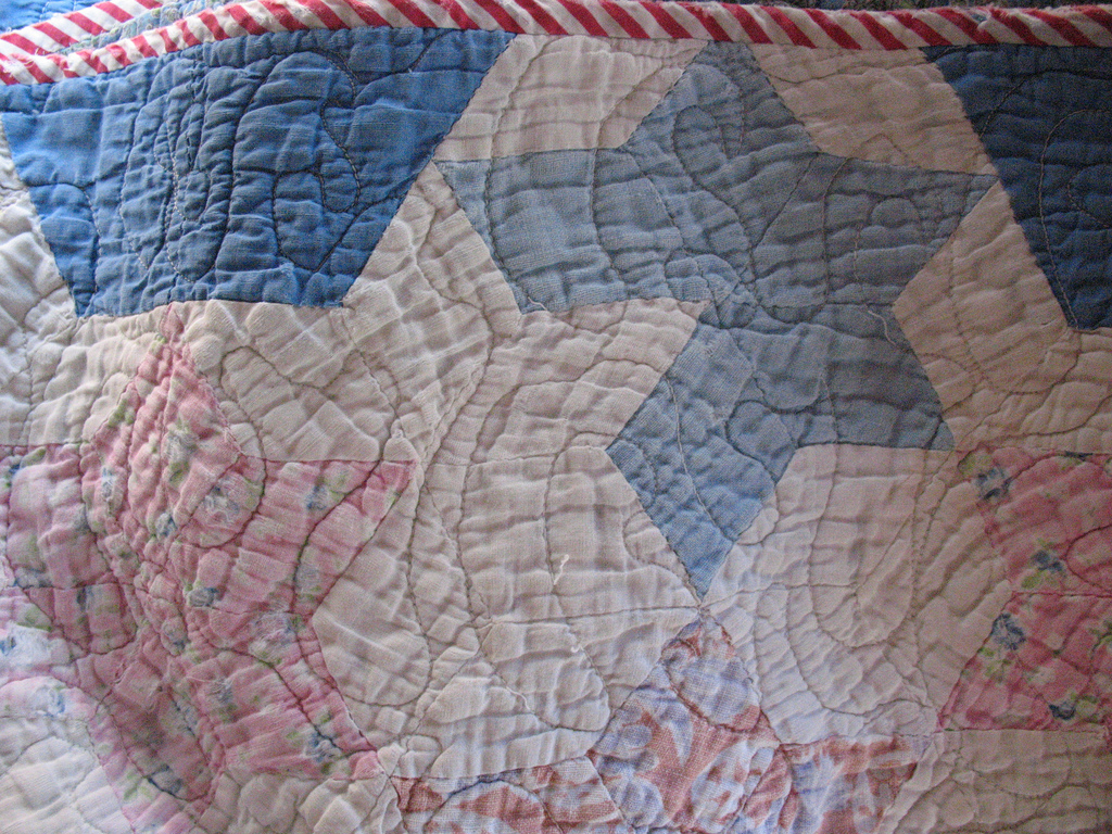 Samplers and quilts from the 19th century can be worth a lot. Even if they are tattered or ripped, the may sometimes be valua
