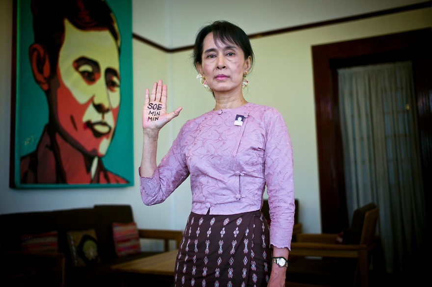 Daw Aung San Suu Kyi, Nobel Peace Prize winner, leader of the opposition party, the NLD, and Burma's democracy icon, has spen