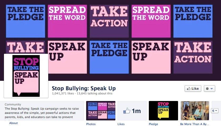 "Source: <a href=""https://www.facebook.com/stopbullyingspeakup"">Facebook </a>"