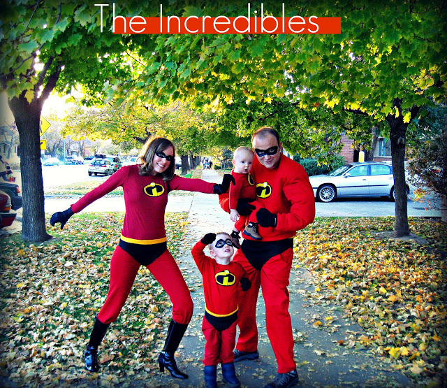 "We love these costumes from <a href=""http://freshlycompleted.blogspot.com/2011/09/incredibles.html"">Freshly Completed</a> bec"