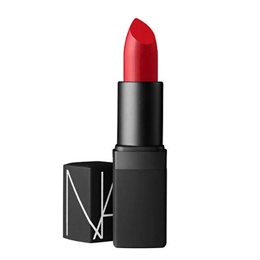 """<a href=""""http://www.narscosmetics.com/color/lips/semi-matte-lipstick/jungle-red"""">NARS</a>"""