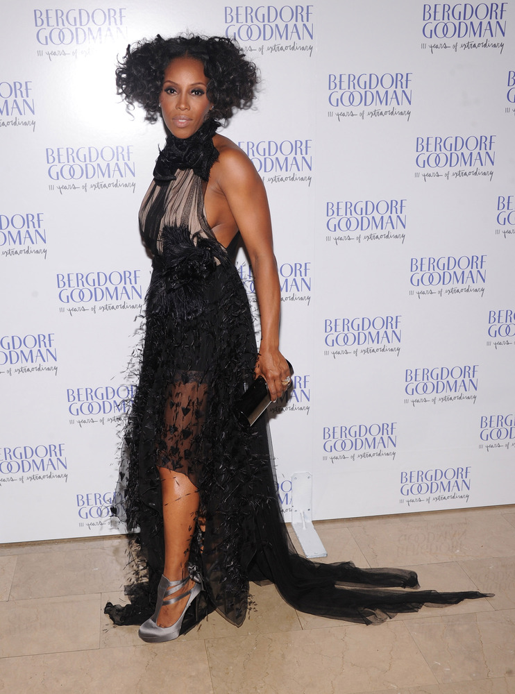 NEW YORK, NY - OCTOBER 18:  June Ambrose attends Bergdorf Goodman's 111th anniversary celebration at the Plaza Hotel on Octob