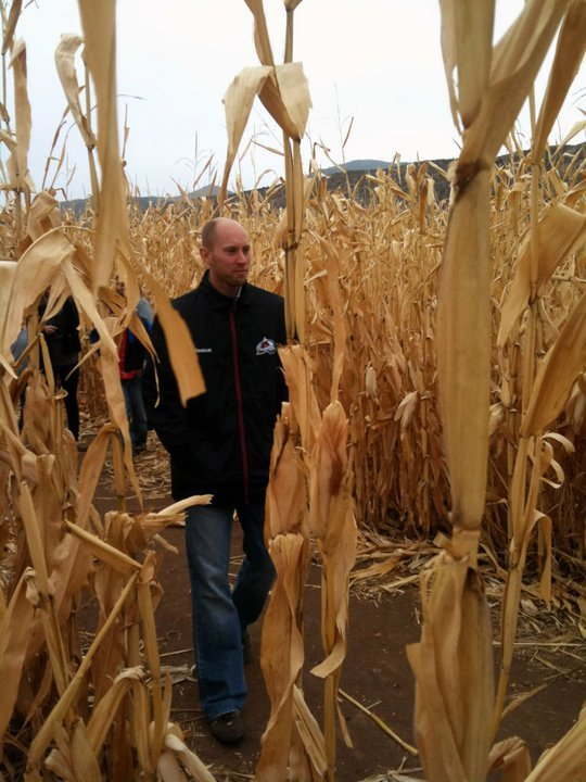"""Get lost in the Denver Botanic Gardens' 8-acre corn maze! New this year is the <a href=""""http://www.botanicgardens.org/corn-ma"""